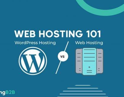 WordPress vs Web Hosting