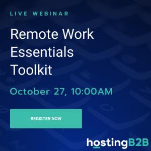 hosting b2b webinar