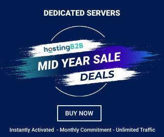 dedicated server deals